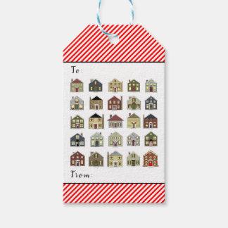 Etiqueta Para Presente Natal do corretor de imóveis
