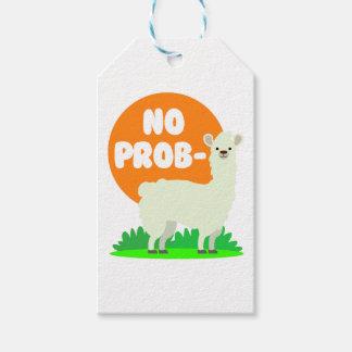 Etiqueta Para Presente Nenhum Prob-Lama - nenhum lama do problema -