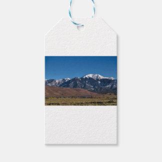 Etiqueta Para Presente Noite estrelado de dunas de areia de Colorado do