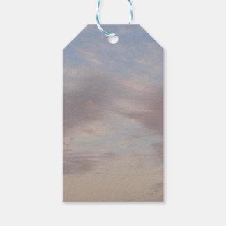 Etiqueta Para Presente Nuvens coloridas