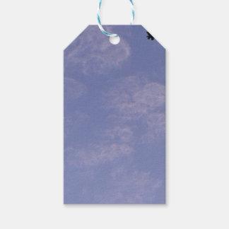 Etiqueta Para Presente Nuvens estranhas 1