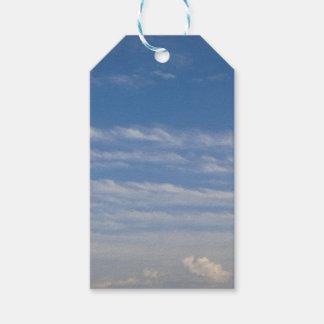 Etiqueta Para Presente Nuvens misturadas