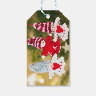 Etiqueta Para Presente O anjo do Natal Ornaments Tag do presente