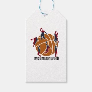 Etiqueta Para Presente O basquetebol nunca para