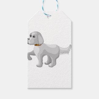 Etiqueta Para Presente O cão dá a pata