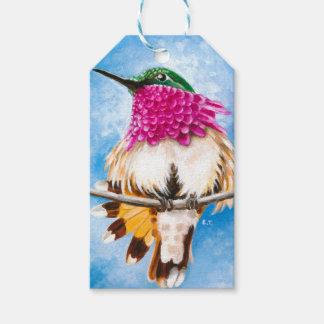 Etiqueta Para Presente O colibri da costela