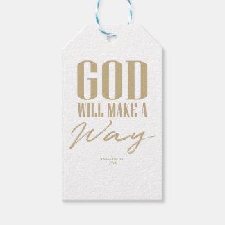 Etiqueta Para Presente O deus fará uma maneira
