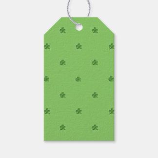 Etiqueta Para Presente O dia de St Patrick minúsculo dos trevos
