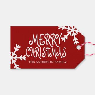 Etiqueta Para Presente O Feliz Natal personalizou Tag do presente