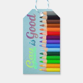 Etiqueta Para Presente O gay é bom design