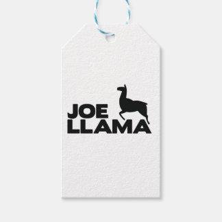 Etiqueta Para Presente O lama de Joe está aqui