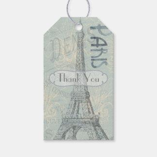Etiqueta Para Presente O partido incorporado de Paris adiciona o logotipo