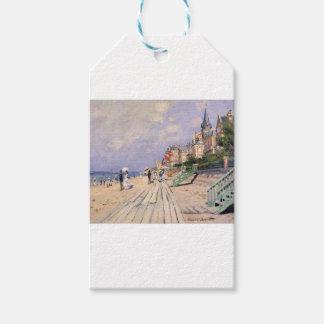 Etiqueta Para Presente O passeio à beira mar em Trouville Claude Monet