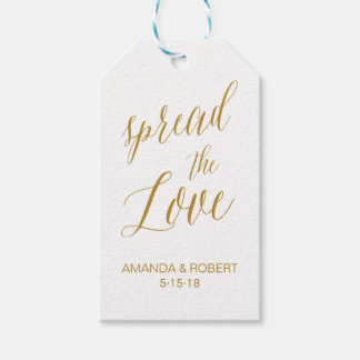 Etiqueta Para Presente O Tag | do favor do casamento espalhou o amor