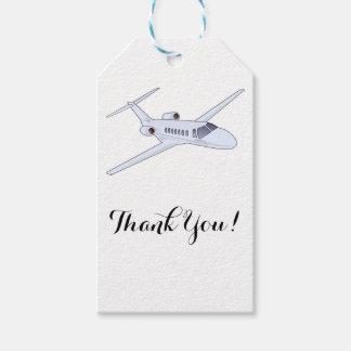 Etiqueta Para Presente Obrigado do avião você Tag do presente