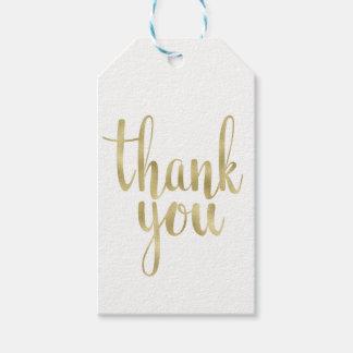 Etiqueta Para Presente Obrigado do ouro você favorece Tag, folha,