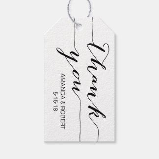 Etiqueta Para Presente Obrigado do Tag | do favor do casamento você