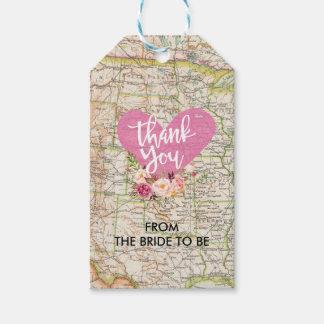 Etiqueta Para Presente Obrigado em todo o mundo etiquetar