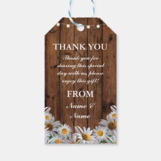 Etiqueta Para Presente Obrigado etiquetar o casamento de madeira dos Tag
