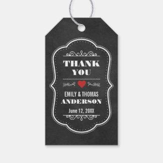 Etiqueta Para Presente Obrigado Wedding você favorece os Tag R do
