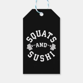 Etiqueta Para Presente Ocupas e sushi - carburadores e dia do pé - Gym