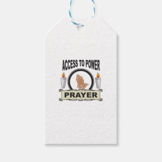 Etiqueta Para Presente oração o acesso ao poder