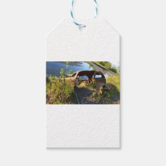 Etiqueta Para Presente Os carros velhos de Eklutna Tailrace