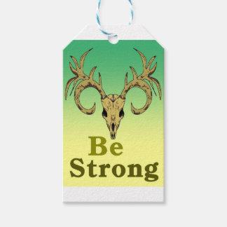 Etiqueta Para Presente Os cervos do crânio sejam citações fortes