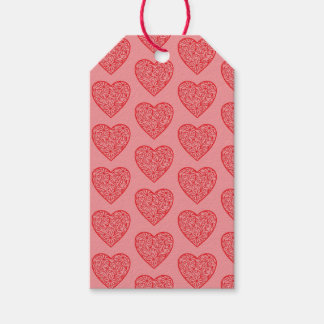 Etiqueta Para Presente Os corações dos namorados