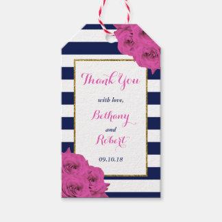 Etiqueta Para Presente Os rosas Luxe modernos chiques do rosa da coleção