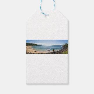 Etiqueta Para Presente panorama da baía do waimea