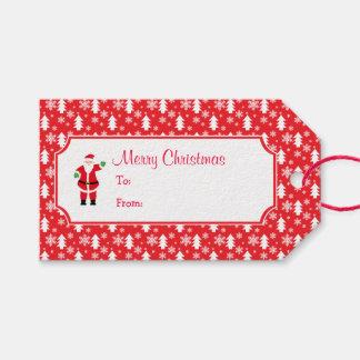 Etiqueta Para Presente Papai noel do Natal & Tag do presente da árvore