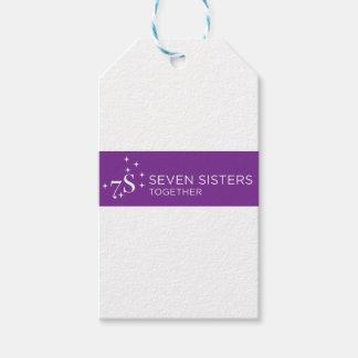 Etiqueta Para Presente Papel de embrulho de sete irmãs