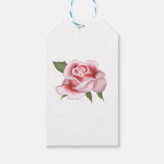 Etiqueta Para Presente Papel de papel de embrulho dos rosas