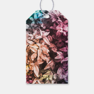 Etiqueta Para Presente Para o amor da doação - multi cor floral