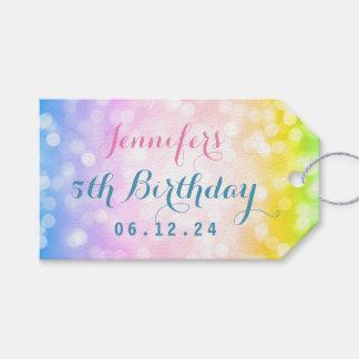 Etiqueta Para Presente Partido de aniversário de criança mágico do