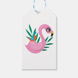 Etiqueta Para Presente Patinho cor-de-rosa