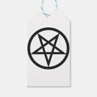 Etiqueta Para Presente Pentagram corajoso
