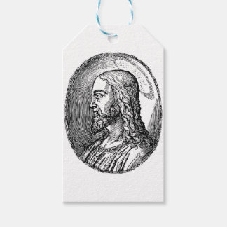 Etiqueta Para Presente Perfil do Jesus Cristo