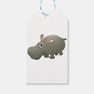 Etiqueta Para Presente Personagem de desenho animado do animal do