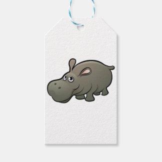 Etiqueta Para Presente Personagem de desenho animado dos animais do
