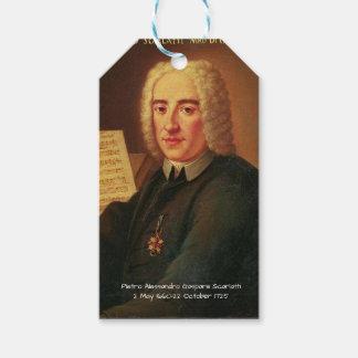 Etiqueta Para Presente Pietro Alessandro Gaspare Scarlatti