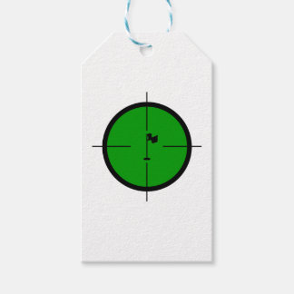 Etiqueta Para Presente Pin do golfe nos Crosshairs