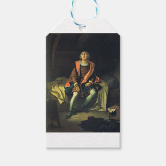 Etiqueta Para Presente Pintura de Cristóvão Colombo por Antonio de