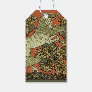 Etiqueta Para Presente Pintura medieval de Raphaelite dos trabalhos de