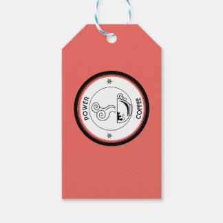 Etiqueta Para Presente Poder do café