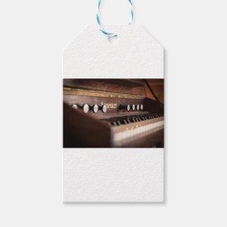 Etiqueta Para Presente Polônia antigo velho da música do instrumento do