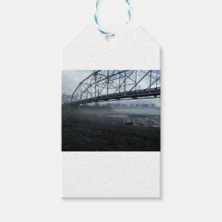 Etiqueta Para Presente Ponte do rio de Knik