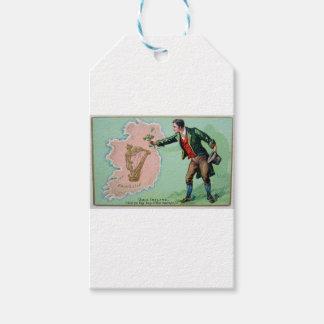 Etiqueta Para Presente Poster da ilha dos erin do dia de Patrick de santo
