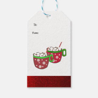 Etiqueta Para Presente Prazer do Marshmallow do Natal